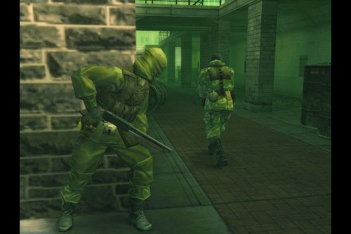 [ゲーム] METAL GEAR SOLID 3 SUBSISTENCE online mode/ オンラインの地獄