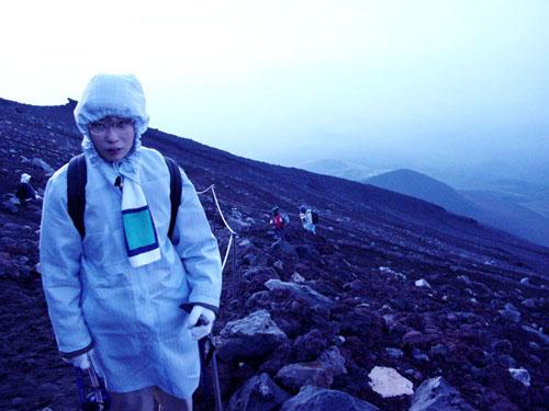 富士登山:九合目