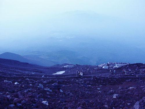 富士登山:もう登るしかない