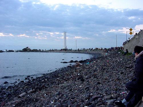 犬吠埼:海岸線