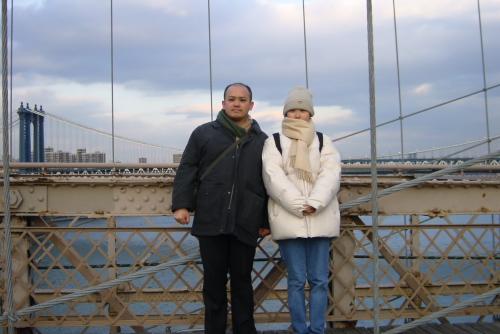 新婚旅行でニューヨーク