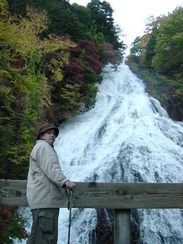 湯滝の観瀑台