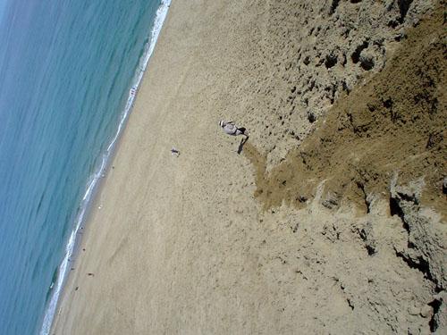 鳥取砂丘:海側