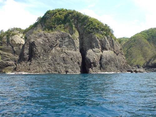 但馬海岸遊覧船:大島