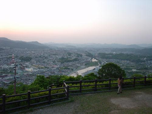 秀望台からの眺め