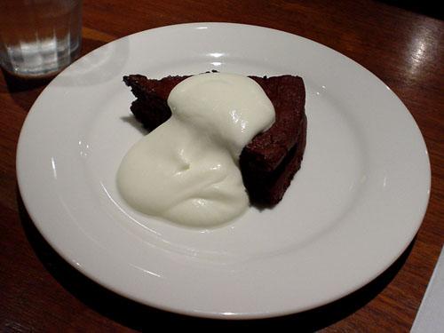 ピエールマルコリーニ:チョコレートケーキ