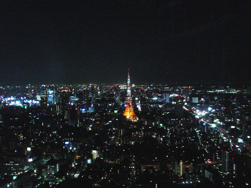 六本木ヒルズの夜景