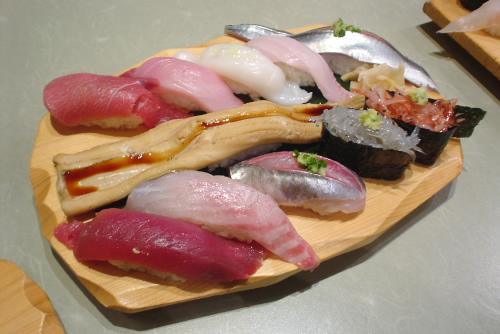 沼津港・魚がし鮨:寿司