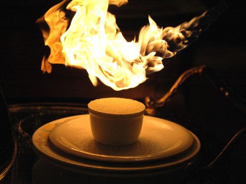 町の洋食屋・カウベル:焼きプリン