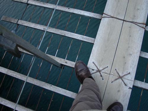 寸又峡:夢の吊り橋