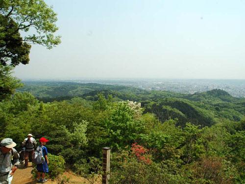 多峯主山:山頂からの景色