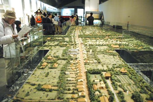 府中宿街道模型