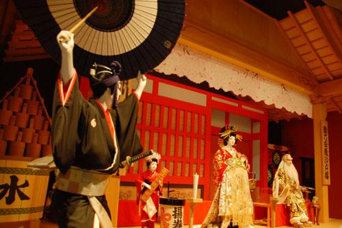江戸東京博物館:しかし説明を読むと、模型の設定にも無理がある