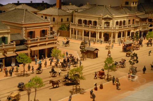 江戸東京博物館:歴史の1シーンを模型で再現