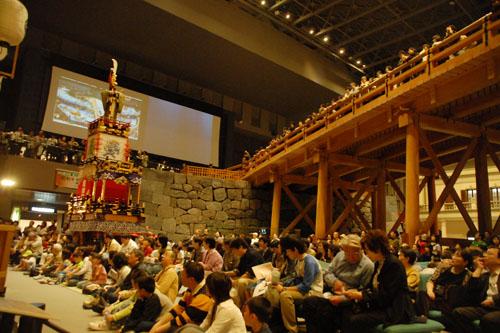 江戸東京博物館:落語も見せ物のひとつ