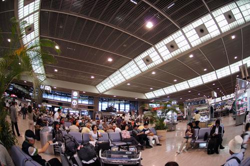 いつもの成田空港