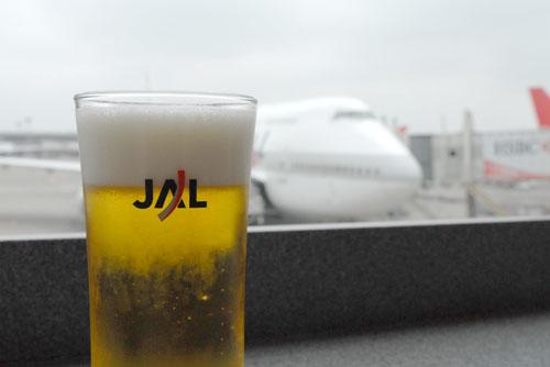 ビールを飲んで、リッチ気分を味わう