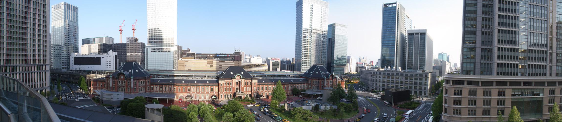 パノラマ:2007年の東京駅