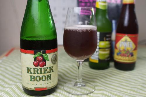 家で飲むベルギービール ブーン クリーク(Boon Kriek)