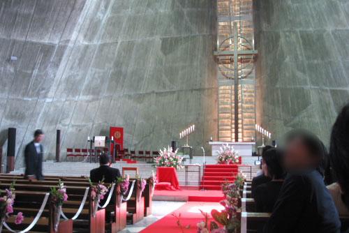 結婚式に参列 ~東京カテドラル聖マリア大聖堂