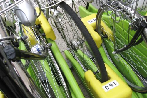 自転車を買った