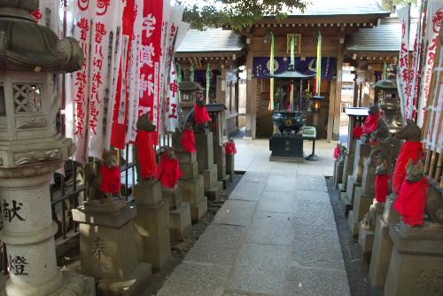 石狐がいっぱい ~豊川稲荷
