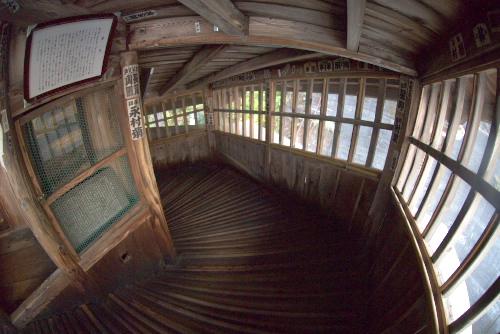 さざえ堂の内部 : 【画像】福島県の「さざえ堂」という建造物 ...