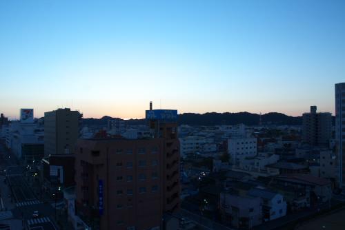 いわき市の夜
