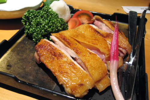 比内地鶏の塩焼き:新宿今井屋本店