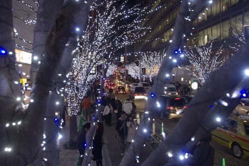 六本木ヒルズのクリスマス