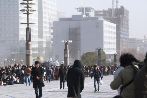 ワンフェス2008冬(1) 寒風にさらされて