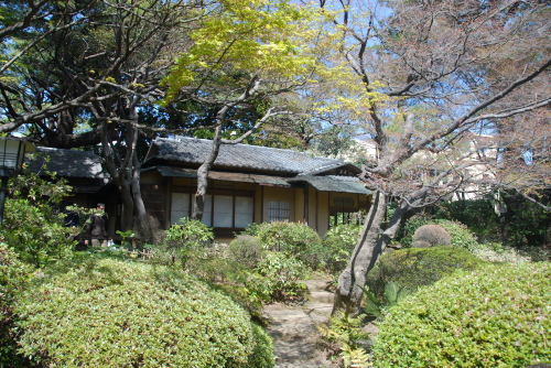 東京都庭園美術館の庭園のみ