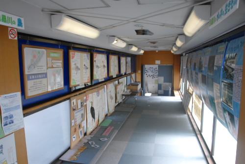 船入場調整池と川の資料館