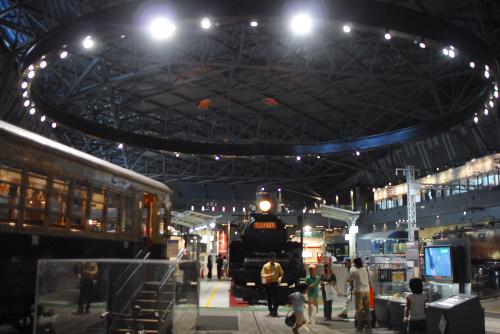 こんにちは、鉄道博物館