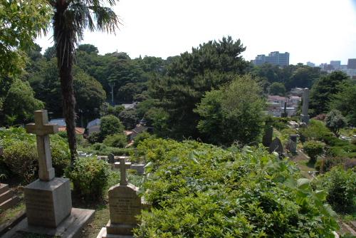 山手西洋館めぐり 山手外国人墓地
