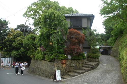 鎌倉アジサイ散歩 茶房 雲母