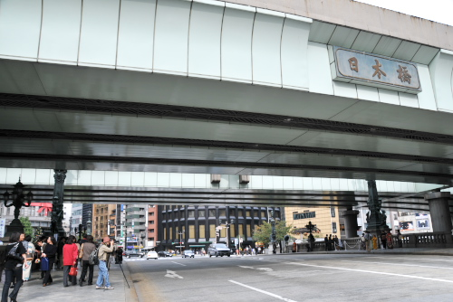 日本橋をじっくり見てみる