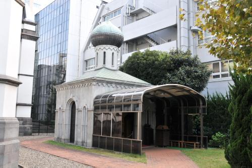 東京復活大聖堂(ニコライ堂)を見学する