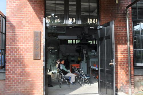 旧三河島汚水処分場喞筒場施設を訪れた