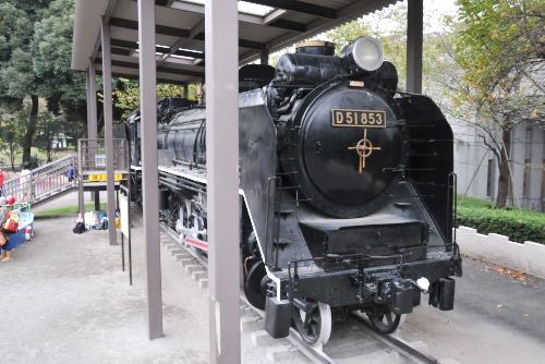蒸気機関車(D51-853)