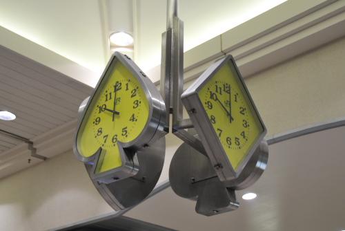 舞浜駅の時計