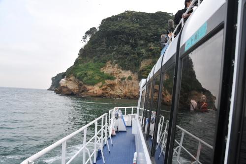 無人島・猿島へ