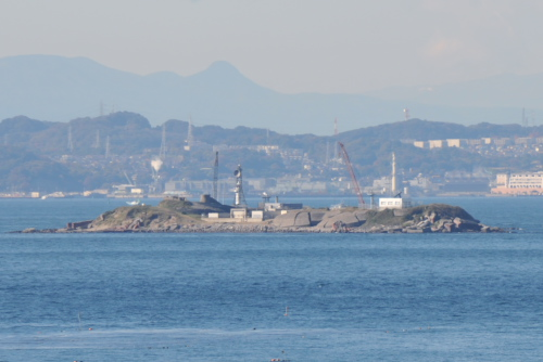 富津岬と富津元洲堡塁砲台