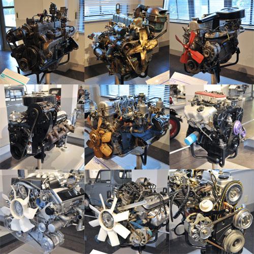 日産エンジン博物館