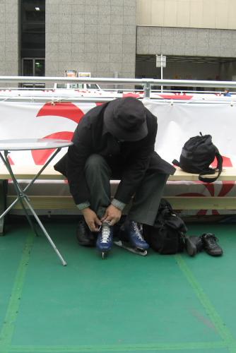 氷を使わないスケートリンク - 日比谷パティオ  Crimio Candy Rink