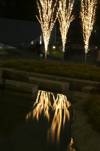 東京ミッドタウンのイルミネーショ