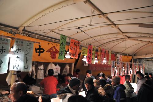 三崎まぐろ祭り年末ビッグセールの午前5時