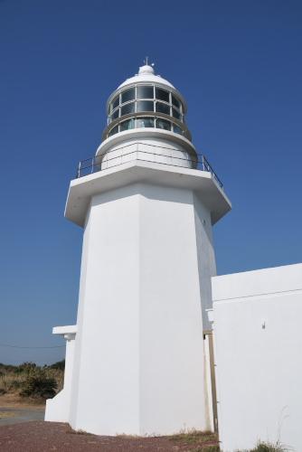 剱埼(つるぎざき)灯台へ