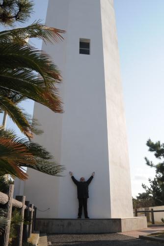 房総半島南端に立つ野島埼灯台