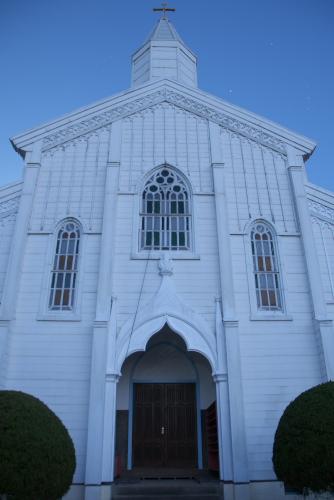 水之浦教会(被昇天天主堂)